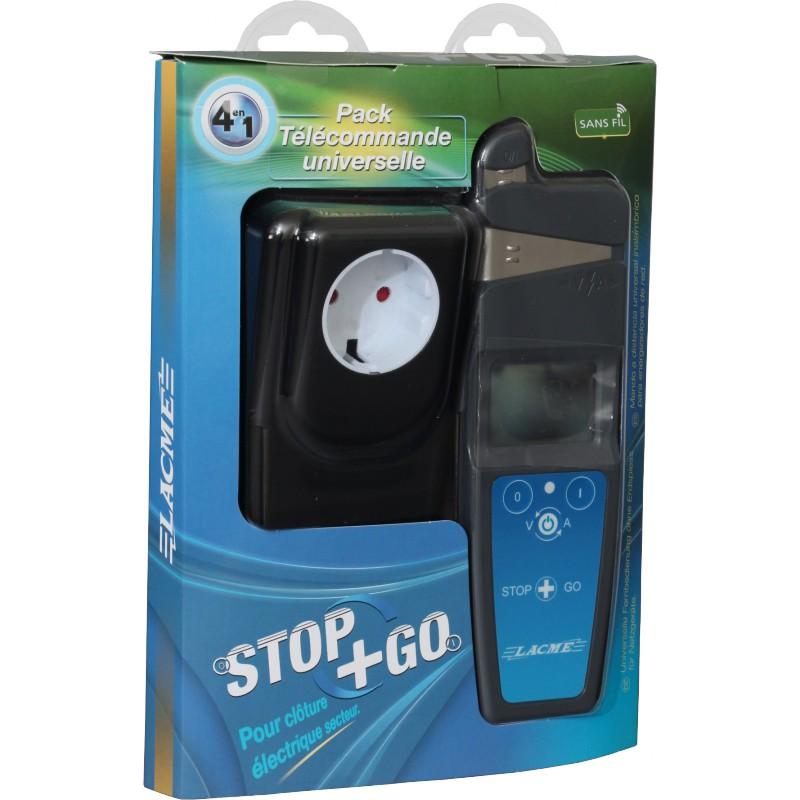 Antivol et s curit pour cl tures pack telecommande stop go for Lacme clos 2000