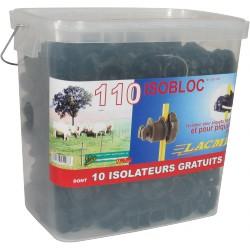 Isolateur clôture ISOBLOC - Seau de 110 - LACME