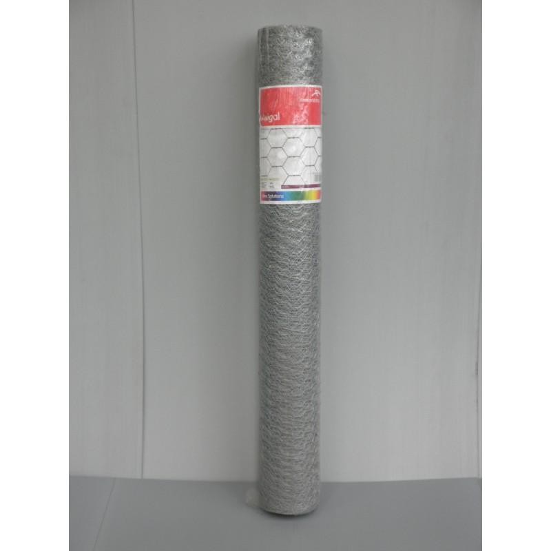 Grillage à Poules Maille 25mm-1M20-50M