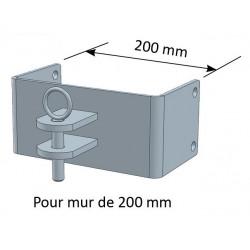Paire de Chape pour Mur 200mm - JOURDAIN