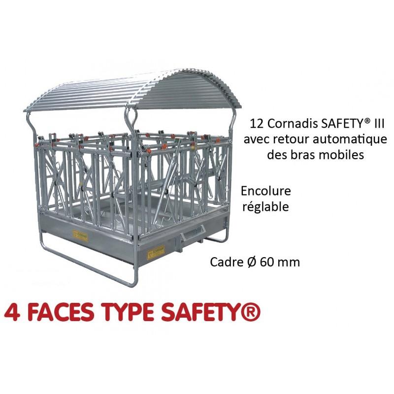 RATELIER 4 FACES TYPE SAFETY - JOURDAIN