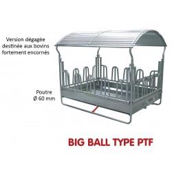 RATELIER BIG BALL TYPE P.T.F. pour Chevaux et Bovins - JOURDAIN