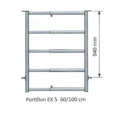 Panneau d 39 herbage jourdain 2 3 m tres extensible for Porte extensible 60 cm