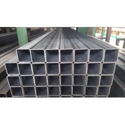 Tube acier carré 20 mm x 20 mm x 2 mm