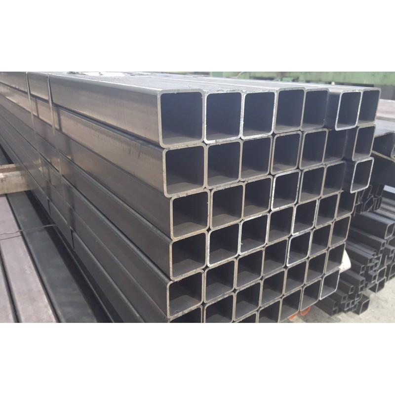 Tube carr acier 70x70x4 mm qualit s235jr form froid la d coupe - Tube carre acier brico depot ...
