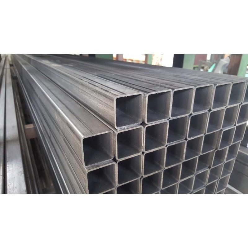 Tube carr acier 80x80x4 mm qualit s235jr form froid la d coupe - Tube carre acier brico depot ...