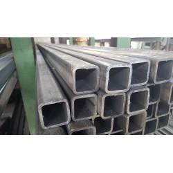 Tube acier carré  80 mm x 80 mm x 8 mm