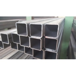 Tube acier carré  100 mm x 100 mm x 3 mm