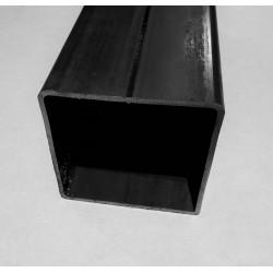 Tube acier carré  100 mm x 100 mm x 5 mm