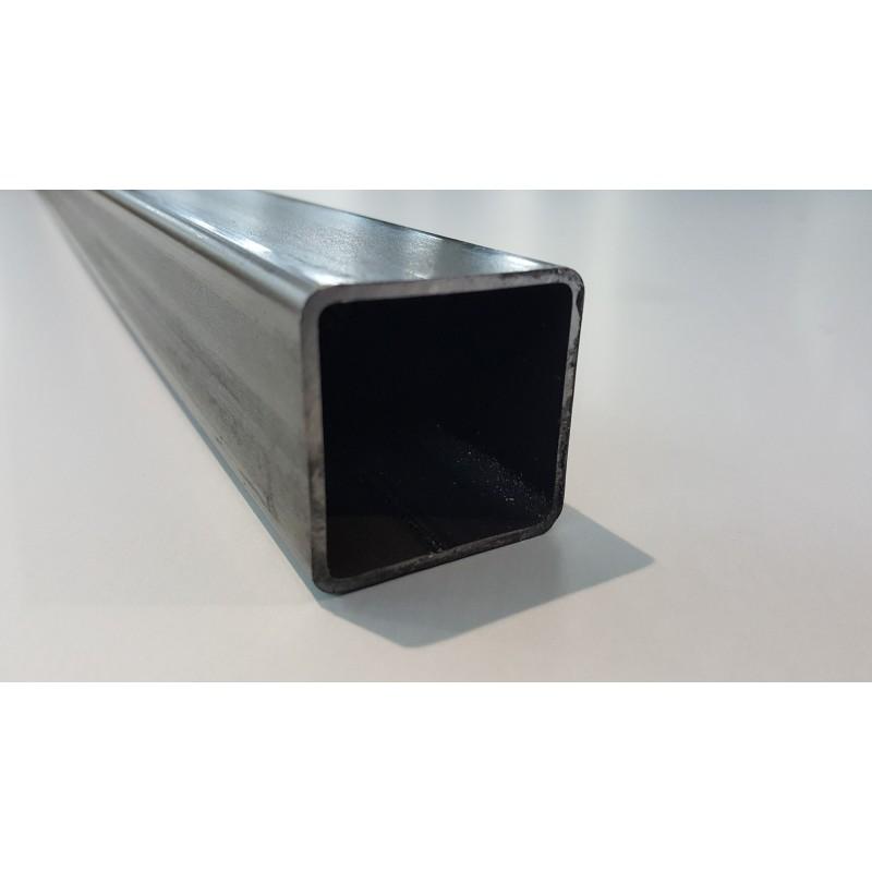 Tube acier carré  100 mm x 100 mm x 10 mm