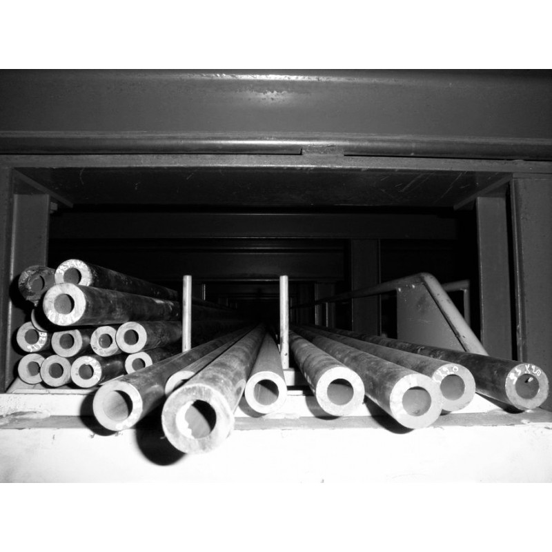 Tube acier Mécanique 50 mm x 25 mm Sans Soudure