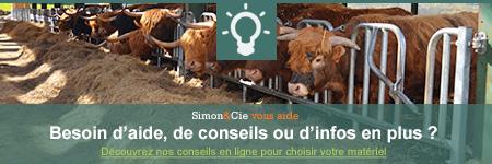 matériel d'élevage pour bovins