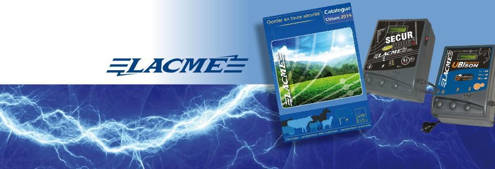 Alles voor uw Lacmé elektrische afsluitingsmateriaal